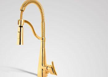 ظرفشویی فنری موشکی طلایی